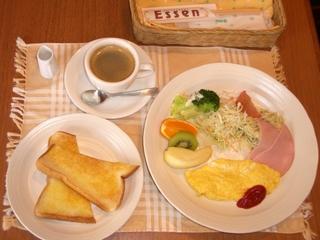 モーニング朝食付プラン
