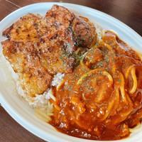 【お得にグルメ】豚丼&ミートのハーフ&ハーフ弁当付プラン