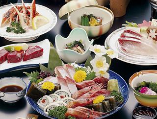北陸路満喫旅♪「焼き蟹と牛肉包み焼きと日本海お造り五種」※「現金特価専用プラン」