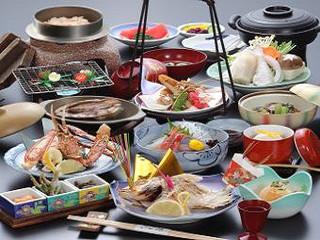 「現金特価専用プラン」☆あわびバター焼き、焼き蟹、焼き鯛★加賀名物の味づくし