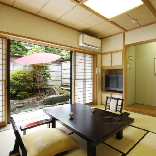 Deluxe Japanese-Style Room with Private Open-Air Bath