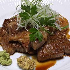 ≪グレードアップ≫黒毛和牛の大きなステーキ&季節の特別料理コース