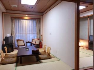 和室7.5畳+6畳 便利に使える和室2間