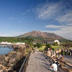 ◆海釣り体験◆初心者歓迎!徒歩1分の『桜島海釣り公園』で気楽に釣り三昧♪