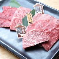 和牛一頭買いの本格炭火焼肉『無敵』で味わう焼肉コースプラン【朝夕付】