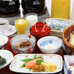 ☆【朝食付プラン】〜和定食&ミニバイキング〜≪朝食は7:00から≫