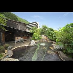 【人気NO.1】〜雪見酒&貸切露天付プラン〜 掛け流し温泉を楽しむ