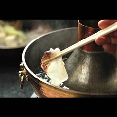 【グルメプラン】 おすすめ! 〜特選飛騨牛と厳選鯛のしゃぶしゃぶ懐石〜 日本海から直送♪