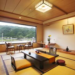 ◆川側和室◆『さくら草』12.5畳(バスWi-Fi )禁煙