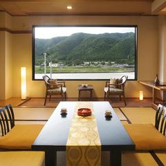 ◆川側和室◆『スタンダード』10畳+広縁 (Wi-Fi)