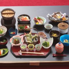 【1泊2食付】温泉&お食事をちょっと贅沢に楽しむ☆満喫プラン