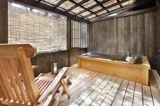 【スタンダード】<露天風呂付き客室>で湯ったり愉しむ「離れ」プラン 貸切り露天風呂も無料