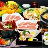 ◆1泊2食付でサイト内最低価格◆きめ細かくあっさりとした上州麦豚のしゃぶしゃぶ会席プラン【平日お得】