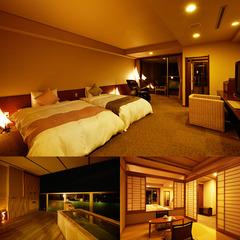【大好評のおもてなし空間】三河湾を見下ろしながら・・・露天風呂付和洋室「香扇閣特別室」で贅沢プラン♪