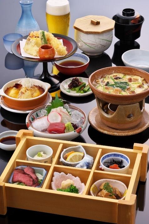 【2食付】 日本料理店『はりま』 夕食付プラン 【季節の御膳】 ■天然温泉&駐車場無料