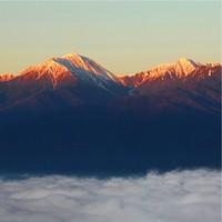 【安曇野での宿泊者限定】早朝の感動体験!標高933mからの安曇野絶景ツアー【ガソリン券付き】
