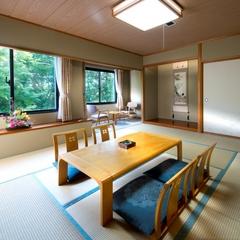 【☆禁煙】和室 40平米 バス・シャワートイレ付