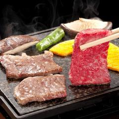 《☆お部屋食確約☆》三重ブランド伊賀牛の石板焼きステーキ付会席★個室で会席♪