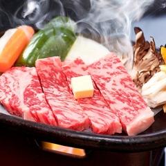 上州牛ステーキ付プラン 【当館人気】柔らかくて、とてもジューシィな和牛!★一押しのプランです。