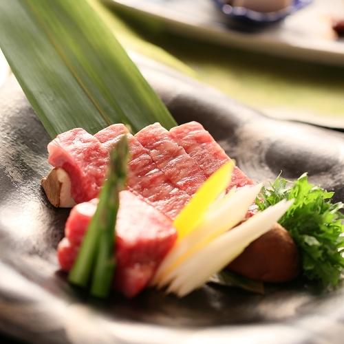 【特選料理コース】信州プレミアム牛と厳選素材〜50歳以上の大人旅にもおすすめです