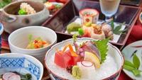 【◎60歳以上限定◎】◆選べるドリンク付◆夕食は旬の食材を活かした糸結会席<糸結会席>