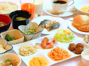 【BBHグループ130店舗達成記念♪】◆◇ビジネス一押し◆◇お得な和洋20種以上の朝食バイキング◇◆