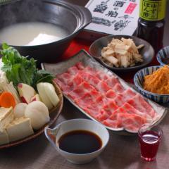 【話題の発酵パワー】こだわりの酒粕をベースに♪京都豚のしゃぶしゃぶプラン♪【2食付】