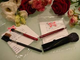 【熊野化粧筆付き】 広島県特産品付きプラン(1室1セットのお渡しです)