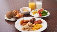 【早得90】90日前のご予約でお得にSTAY(朝食付)★ロイホで和洋バイキング★