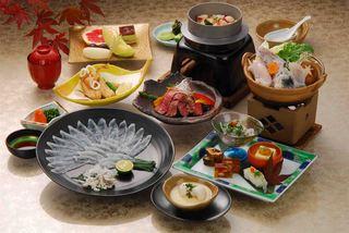 【料理長の贅沢会席!】 ◆源平プラン◆ 特選ふぐ会席+厳選和牛ステーキ!