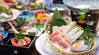 旬菜の味覚コース〜その日に仕入れた旬の食材をお出しします〜(別邸游山の庄)