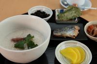 朝カレー&お粥が新登場!朝定食付き(和/洋/カレー/お粥の4択)