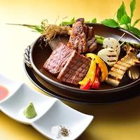 日本三名泉『草津温泉』を楽しむ 【上州和牛増量プラン】上州和牛炙り増量+上州和牛握り