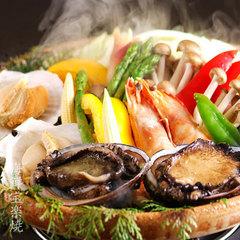 【5-7月限定】1日5組様の特別価格◆鮑1人4個×新鮮魚介◆禁断あわび会席  [ZI006I5]