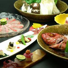 【金目鯛をたっぷり堪能】しゃぶしゃぶに煮付け、雑炊まで★金目鯛会席プラン