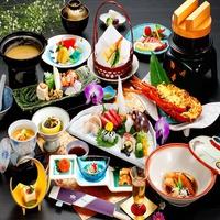 ☆特選海鮮料理≪彩の膳≫夕食:お部屋食 お部屋:海側【料理ランクスタンダード】