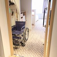 【アクセシブルルーム確約】★素泊まり★車椅子で泊まれるバリアフリーのツインルーム♪