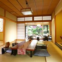 露天風呂付客室 10畳+6畳 ■2室限定