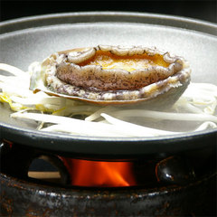 【鮑プラン】高級食材・あわびをステーキ&お造りで☆