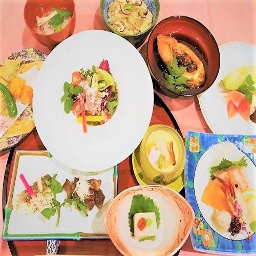 【四季会席】≪2食付き≫ グレードアップで至高の夕食付きプラン