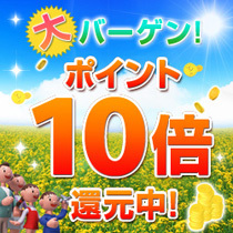 【楽天限定】ポイント10倍◆楽天スーパーポイント10%付与プラン◆
