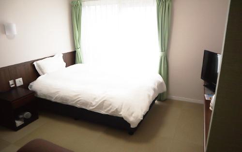 新しいお部屋の和洋シングル