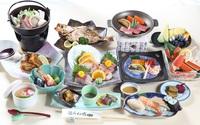 御夕食ツーランクアップ(日本海和膳)一泊二食付きプラン♪