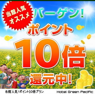 ◆ポイント10倍◆楽天限定プラン◆素泊まり◆無料Wi-Fi対応