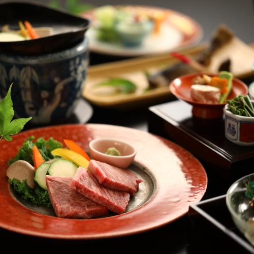【贅沢ご飯プラン】信州牛の陶板焼きと旬彩を愉しむ