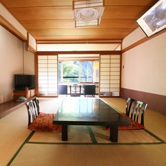 【本館・和室10畳】 松川渓谷ビュー 【禁煙】