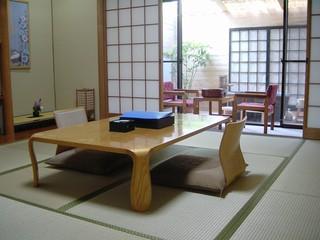 露天風呂付客室[10畳]檜樽または五右衛門風呂◆禁煙室◆