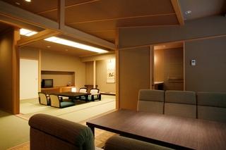 12.5畳和室と掘りごたつのお部屋・展望風呂付(AWタイプ)
