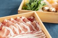 鹿児島の郷土料理を食す◆一心特製【薩摩黒豚しゃぶしゃぶ鍋】堪能プラン