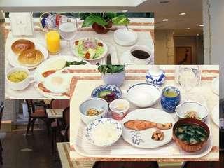 朝はしっかり!  朝食付きプラン